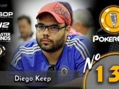 """Diego Cardoso, o """"diegokeep"""", abriu o jogo no 133º Pokercast"""