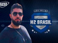 Victor Pertile é campeão do R$ 1 milhão garantido na Liga Online H2 Brasil