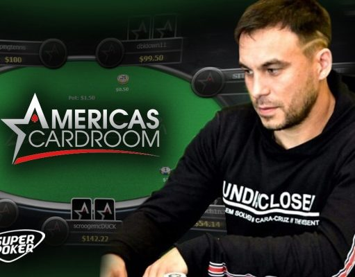 Fernando Benítez forrou nas mesas do Americas Cardroom