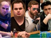 Sylvain Loosli, Chris Kruk, Connor Drinan e Chris Oliver estão na FT do WSOP Super MILLION$