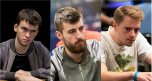 Timofey Kuznetsov se deu bem após all in triplo contra Wiktor Malinowski e Linus Loeliger no GGPoker