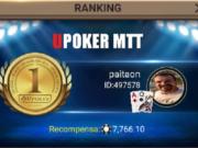 """""""paitaon"""" foi o grande campeão da terça-feira (15) na Liga Online H2 Brasil"""