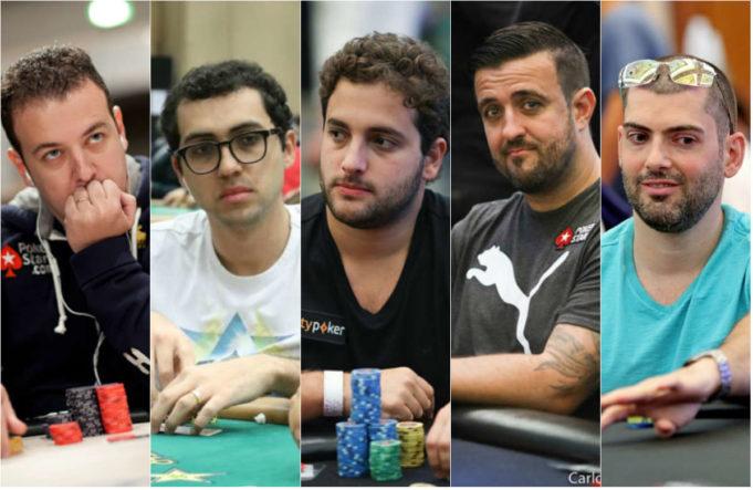Os cinco são os brasileiros que mais somam prêmios no EPT