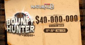 Bounty Hunter Series distribuirá mais de US$ 40 milhões no Natural8