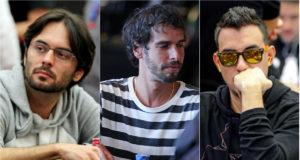 Pedro Correa, Fred Volpe e Peter Patrício alcançaram a mesa final na Bounty Builder Series