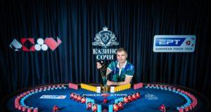 Ruslan Bogdanov levou mais de US$ 200 mil com o título