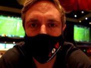 Youtuber, Andrew Neeme voltou a jogar poker ao vivo após quase sete meses