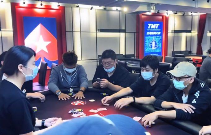 Poker ao vivo em Taiwan está a todo vapor