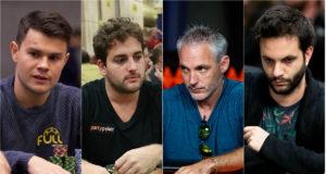 Mastelotto, Simão, Salas e Melogno estiveram entre os classificados do dia 1B do The Venom PKO