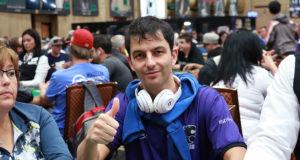 Enio Bozzano está na mesa final do Main Event do EPT Online