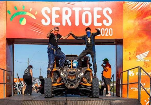 Enio Bozzano participou do Rally dos Sertões neste ano