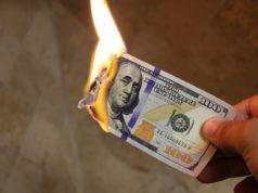 Canadense queimou US$ 10.300 na loucura