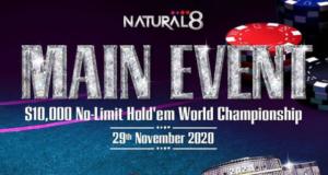 O Natural8 está dando uma oportunidade imperdível para o Main Event