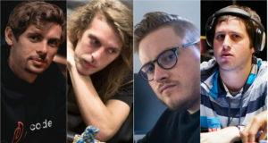 Fedor Holz, Bert Stevens, Jaime Staples e Darren Rabinowitz opinaram