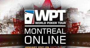 WPT Montreal Online tomará as mesas do partypoker em janeiro
