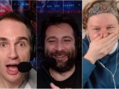 Narrador e comentaristas do PokerStars ficaram assustados com a jogada