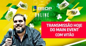 Transmissão ao vivo do BSOP Online é no SuperPoker