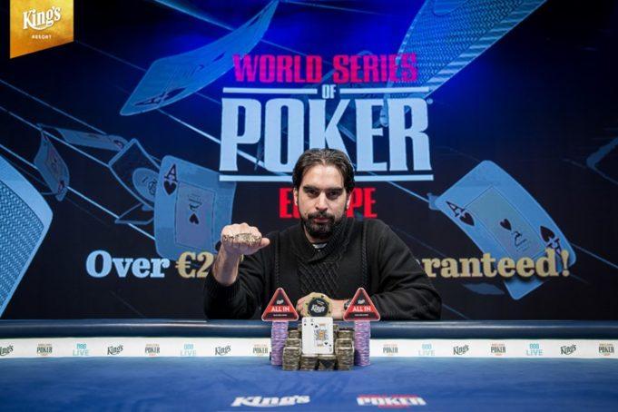 Alexandros Kolonias faturou mais de US$ 400 mil com a vitória