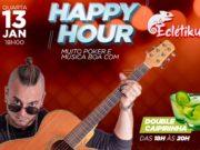 Happy hour do H2 Club Campinas acontece nesta quarta