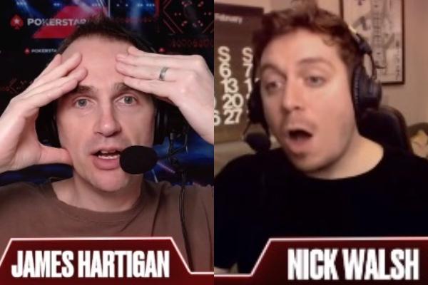 James Hartigan e Nick Walsh ficaram surpreso com a decisão de