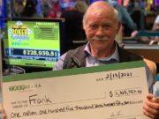 Frank Nagy, que há muito tempo joga em Atlantic City, levou sete dígitos para casa