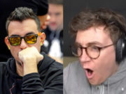 Peter Patrício ficou no lado errado da bad beat contra Fintan Hand
