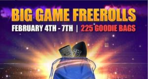 Big Game Freerolls do PokerBROS vai entregar prêmios de graça