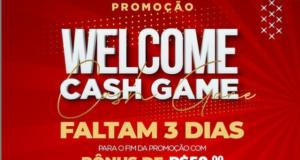 """""""Welcome Cash Game"""" está chegando ao fim, mas ainda tem muita grana a ser entregue"""