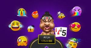 PokerBROS agora tem emojis nas mesas e marcação de stack por blinds