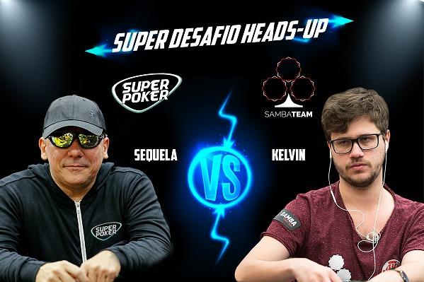 Eduardo Sequela e Kelvin Kerber se enfrentam no Duelo SuperPoker