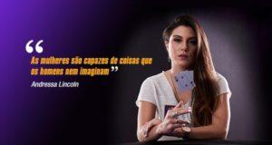 Andressa Lincoln é uma das principais figuras femininas do poker nacional