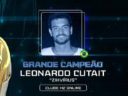 Leonardo Cutait encheu o bolso no Main Event da World Championship
