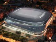 Assim ficará o Estádio Santiago Bernabéu, do Real Madrid, em 2023 (Imagem: Divulgação)