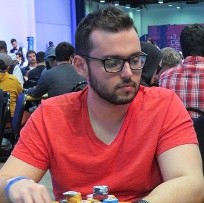 Gabriel Borges foi parado no heads-up do torneio
