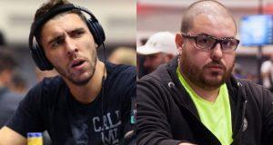 Caio Pessagno e Danilo Demétrio levaram a tampa na WSOPC Series