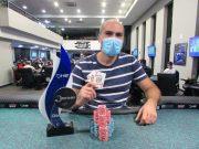 Nizar Alromhen foi campeão do torneio