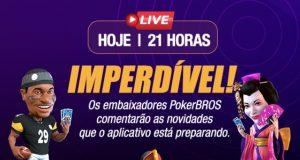 A live do PokerBROS revelará muitas novidades nesta segunda (17)