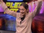 Gaelle Baumann comemorou demais a improvável vitória
