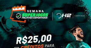 SuperJogos e H2 Club Campinas se juntam para premiar os melhores das mesas
