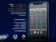 Jackpot valioso agitou as mesas da Liga Online H2 Brasil