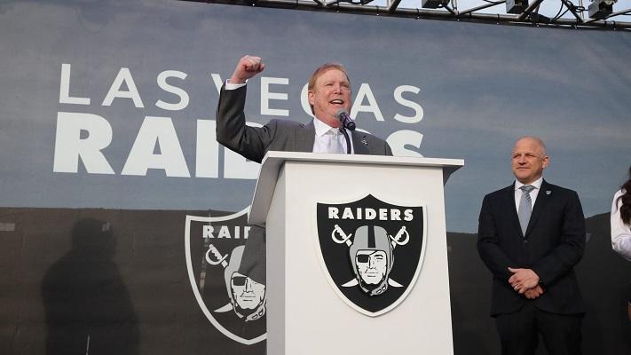 O Raiders, do empresário Mark Davis (foto), mudou de patamar após ir a Las Vegas