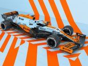 Carro da McLaren com pintura exclusiva para o GP de Mônaco será o primeiro da parceria com a Entain (Imagem: Divulgação)
