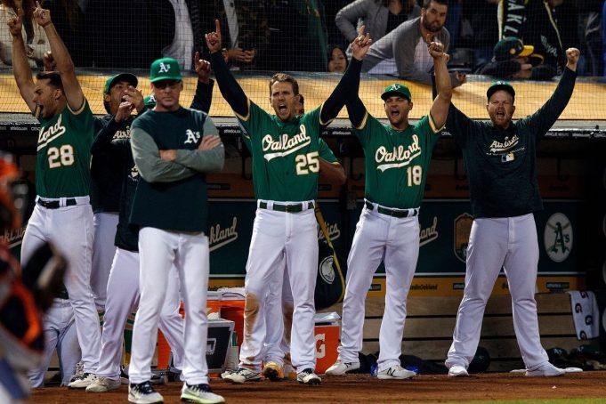 O Oakland Athletics, da MLB, estuda se mudar para Las Vegas (Foto: Jason O. Watson/Getty Images)