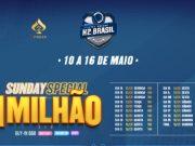 Sunday Special com R$ 1 milhão garantido é atração na Liga Online H2 Brasil