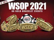 WSOP 2021 tem programação recorde de 88 eventos