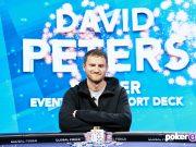 David Peters levou o segundo título do US Poker Open (foto: PokerGo)