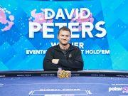 David Peters se aproxima da marca de US$ 34 milhões em premiações no circuito live (Foto: PokerGo)