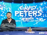David Peters levou o terceiro título na série