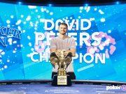 David Peters levou um belíssimo troféu e mais US$ 50 mil