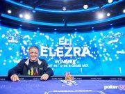 Eli Elezra venceu o Evento #6 do US Poker Open (Foto: PokerGo)